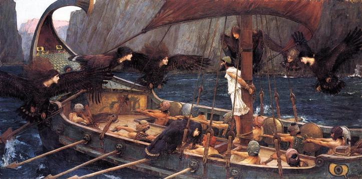 John William Waterhouse, Ulysses and the Sirens, 1891, National Gallery of Victoria, Melbourne