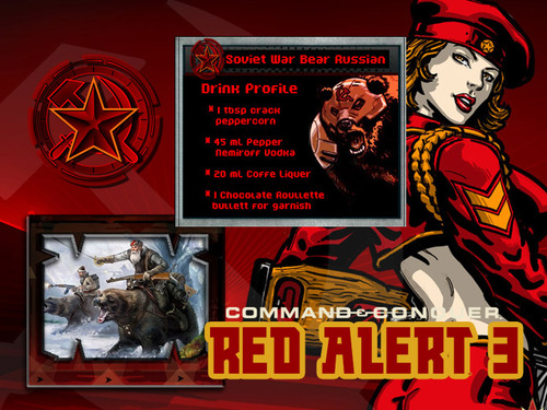 Soviet War Bear Russian Red Alert 3