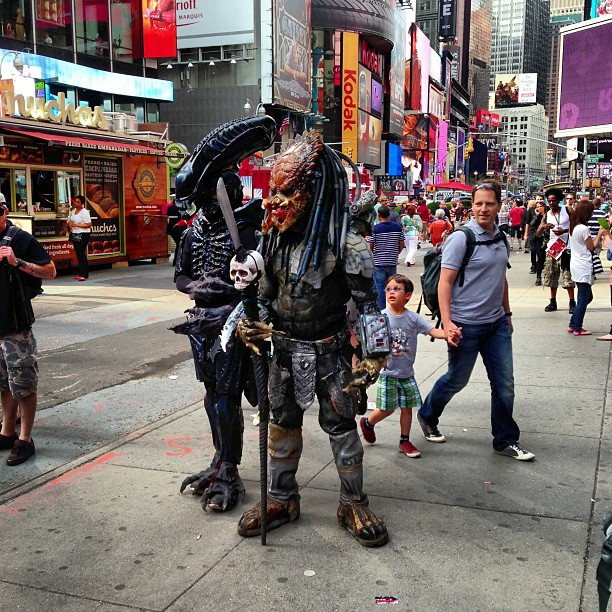 Time Square NYC 2013