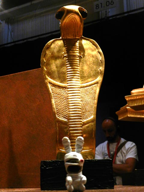 Mormantul lui Tutankhamon, Expo Paris 2012