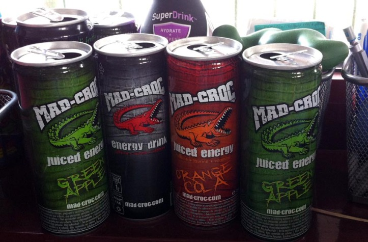 Mad-Croc energy drink