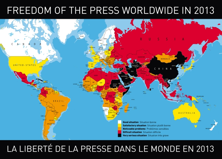 Sursa: Reporters without borders