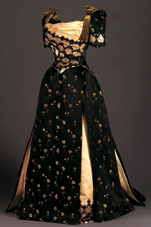 late victorian dress 1890