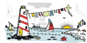 10863981-cartoon-of-lighthouse-keeper-drying-washing