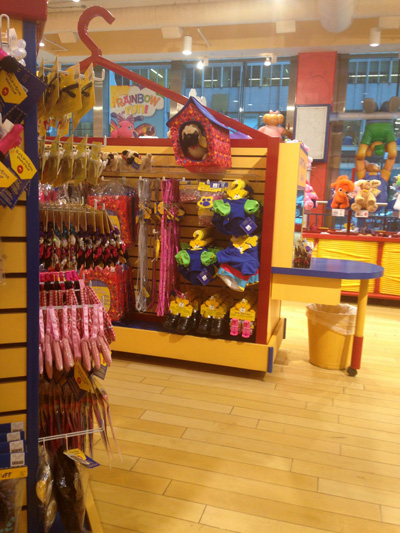 Build a Bear Workshop New York 2014