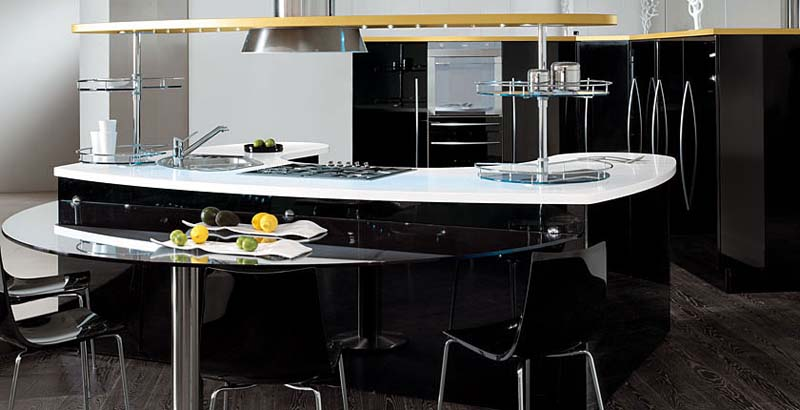 contemporary-kitchens-with-curved-tops-Skyline-by-Snaidero-2