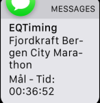 5km official time